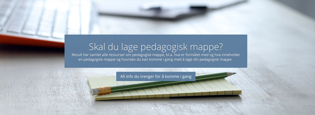 """Nye"" websider for universitetspedagogikk"