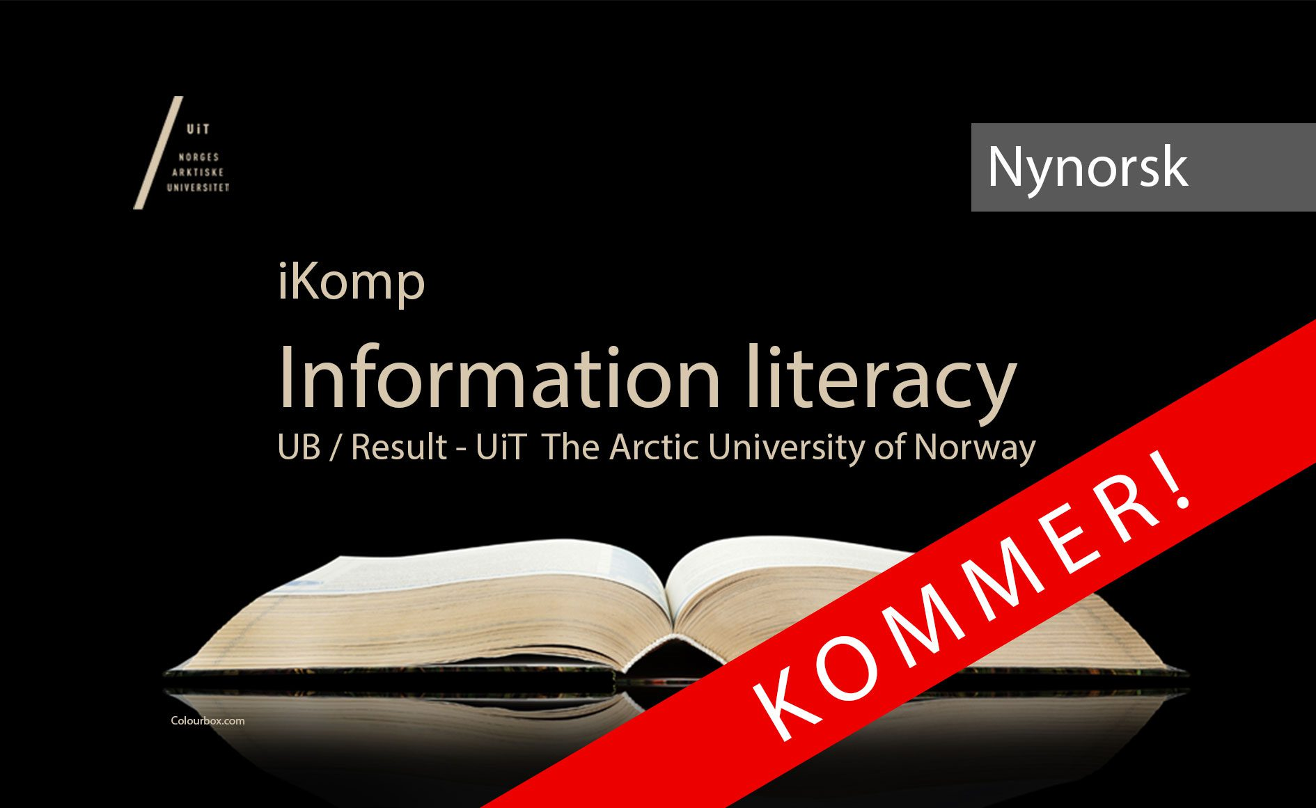 English versjon of iKomp