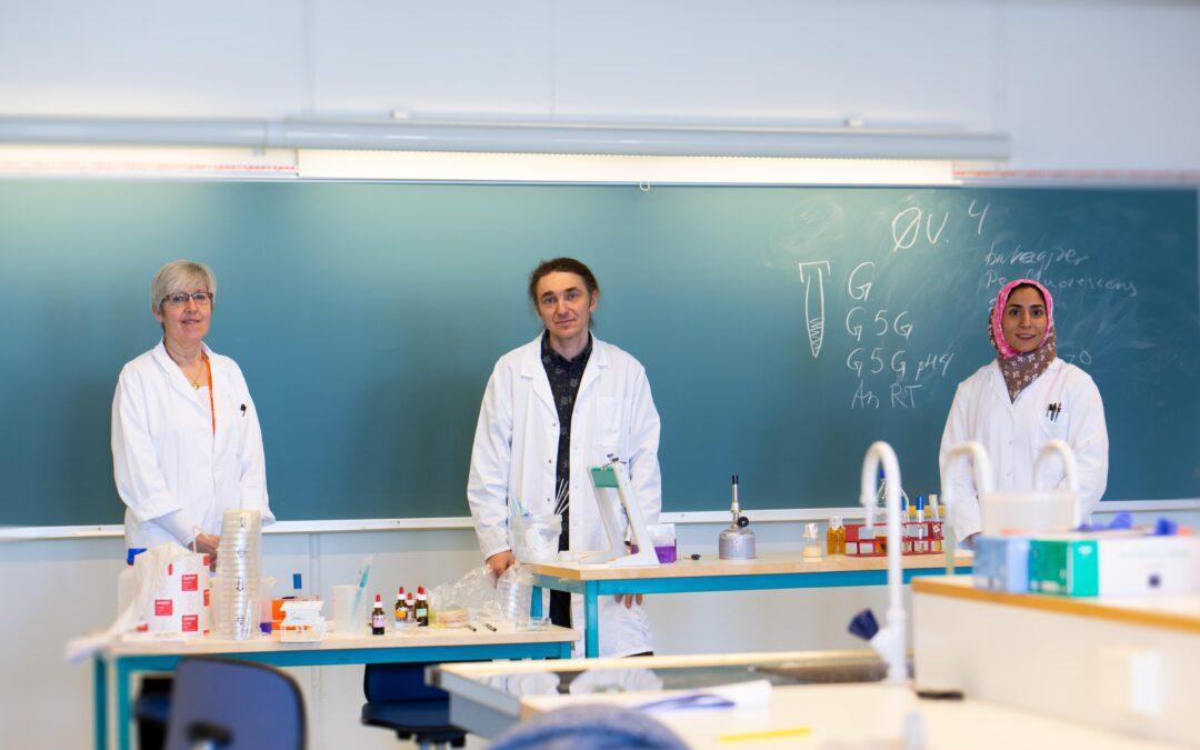 Rask på labben i endring av lab-undervisning