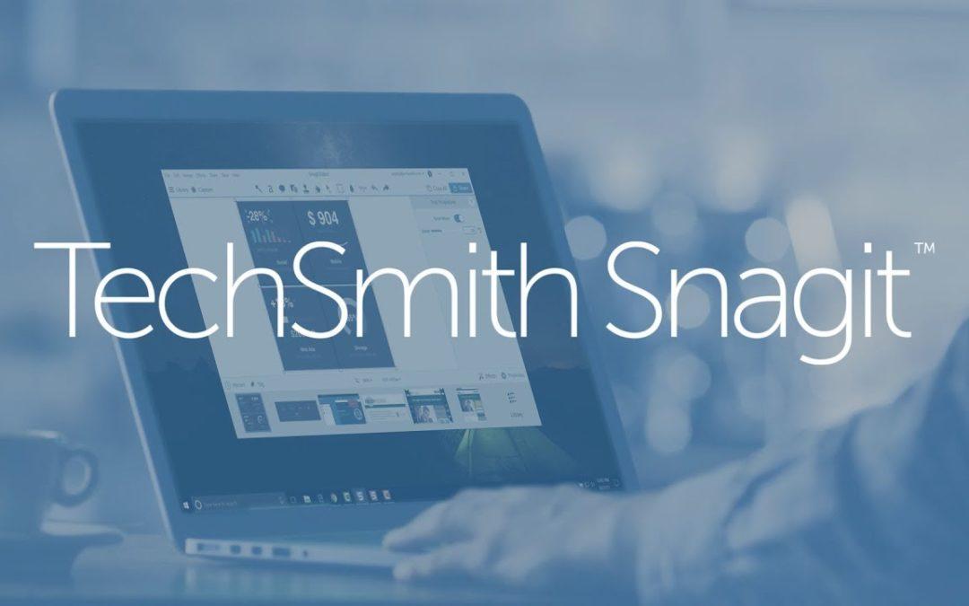 Hvordan bruke Techsmith Snagit® til skjermopptak